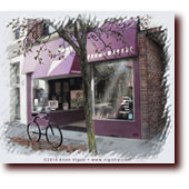 "Miscellaneous Art entitled ""Store Sweet Store"": The Framemakers in Downtown Waterville Maine"