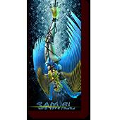 """I-Bots entitled """"I-Samiel"""": I-bot Predacon, Samiel, tied up in jumper cables"""