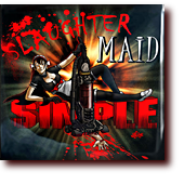 "Naughty Naughty entitled ""Slaughter Maid Simple"": A guro pinball machine featuring a murdering maid with killer vacuum cleaner"